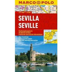 Sevilla térkép Marco Polo 1:15 000