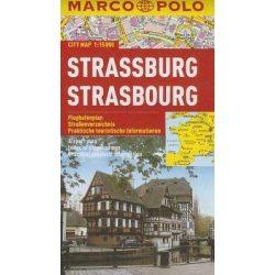 Strassburg térkép vízálló Marco Polo 2015 1:15 000