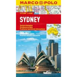 Sydney térkép vízálló Marco Polo 2012 1:15 000
