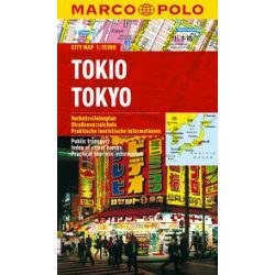 Tokio térkép, Tokyo térkép vízálló Marco Polo 2015 1:15 000