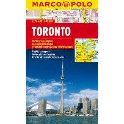 Toronto térkép vízálló Marco Polo 2012 1:15 000