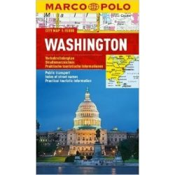 Washington D.C.  térkép Marco Polo 1:15 000