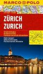 Zürich térkép vízálló Marco Polo 2014 1:15 000