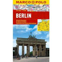 Berlin térkép vízálló Marco Polo 2016 1:15 000, Berlin várostérkép