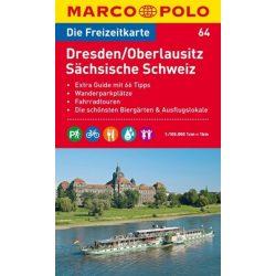 64. Szász-Svájc turista térkép Marco Polo 1:100 000