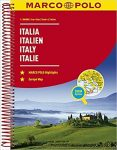 Olaszország atlasz Marco Polo 2016 1:300 000