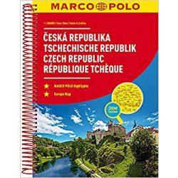 Csehország atlasz Marco Polo 2017 1:200 000