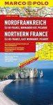 Észak-Franciaország térkép Marco Polo 2013 1:300 000