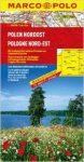 Lengyelország észak-kelet térkép Marco Polo  1:300 000
