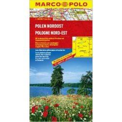 Lengyelország észak-kelet térkép Marco Polo  1:300 000 Lengyelország térkép