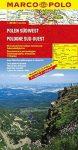 Lengyelország térkép, Lengyelország dél-nyugat Marco Polo  2014  1:300 000