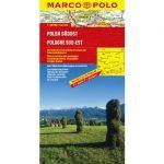 Lengyelország dél-kelet térkép Marco Polo 2013 1:300 000