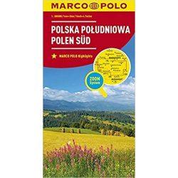 Lengyelország dél térkép Marco Polo  1:300 000 Dél-Lengyelország térkép