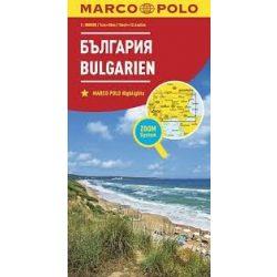 Bulgária térkép Marco Polo 1:800 000