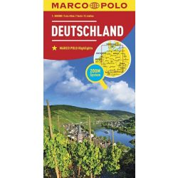 Németország térkép Marco Polo 2014 1:800 000