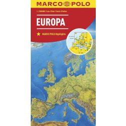 Európa térkép Marco Polo  2016   1:2 500 000