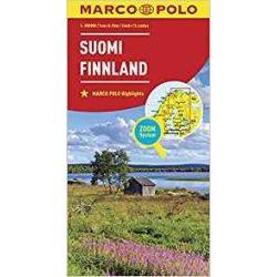 Finnország térkép Marco Polo 2016 1:850 000