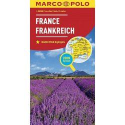 Franciaország térkép Marco Polo 2016 1:800 000