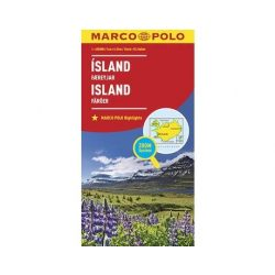 Izland térkép Marco Polo 2016 1:650 000  Faroe-szigetek