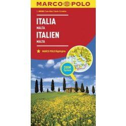 Olaszország térkép Marco Polo 2016 1:800 000