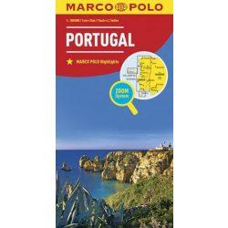 Portugália térkép Marco Polo 2016 1:300 000