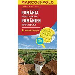 Románia térkép Marco Polo 1:800 000  2017