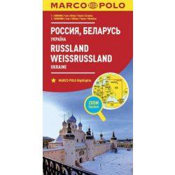 Oroszország térkép Marco Polo 2016 1:2 000 000, 1:10000000