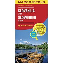 Szlovénia térkép Marco Polo 2018 1:300 000  + Isztria térkép