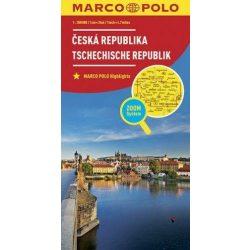 Csehország térkép Marco Polo 2016  1:300 000