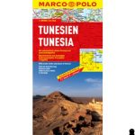 Tunézia térkép Marco polo 1:800 000