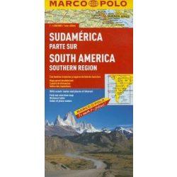 Dél-Amerika térkép déli rész Marco Polo 2013 1:4 000 000