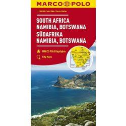 Dél-Afrika térkép Marco Polo 2017 1:2 000 000
