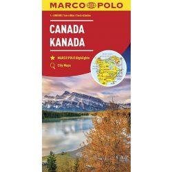 Canada térkép Marco Polo  1:4 000 000 Kanada térkép