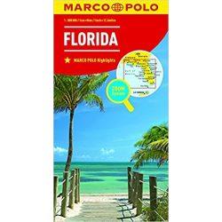 Florida térkép Marco Polo 2016 1:800 000