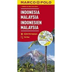 Indonézia térkép Marco Polo 2017 1:2 000 000  Malajzia térkép, Indonesia térkép