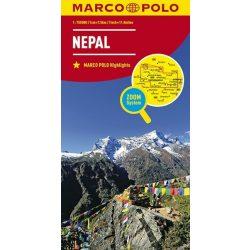 Nepál térkép Marco Polo 2010 1:750 000