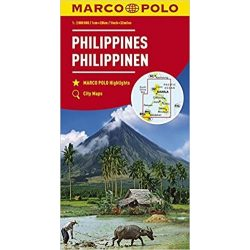 Fülöp-szigetek térkép Marco Polo 1:2000 000  2017