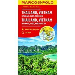 Thaiföld térkép Marco Polo 2016 1:2 500 000