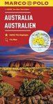Ausztrália térkép Marco Polo 2014 1:4 000 000