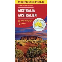 Ausztrália térkép Marco Polo 2016 1:4 000 000