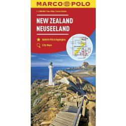 Új-Zéland térkép Marco Polo 1:2 000 000  2016