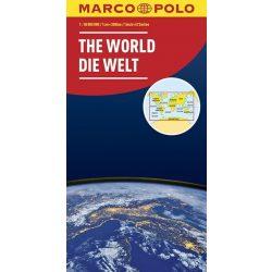 Világ térkép Marco Polo  1:30 000 000  Világ országai térkép 2017