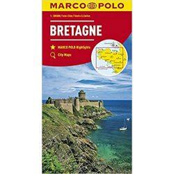 Bretagne térkép Marco Polo  1:200 000  2017