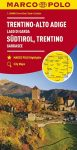 Trentini, Alto-Adige, Garda tó térkép Marco Polo 2016 1:200 000