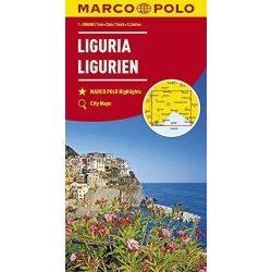 Liguria térkép Marco Polo 1:200 000