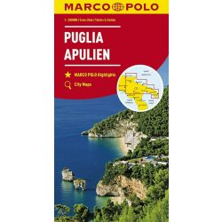 Puglia térkép Marco Polo 2017 1:200 000