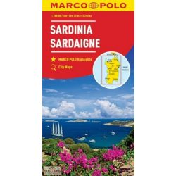 Szardínia térkép Marco Polo 1:200 000