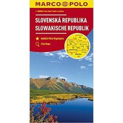Szlovákia térkép Marco Polo 1:300 000