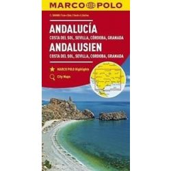 Andalúzia térkép Marco Polo 2017  1:200 000