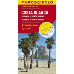 Costa Blanca térkép Marco Polo 1:300 000 2018